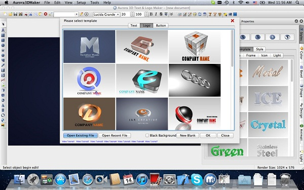Aurora3DMaker on Mac App Store screenshot