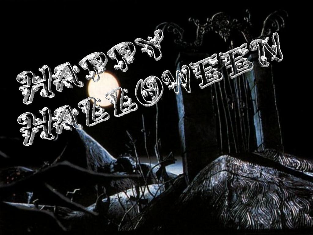 Halloween 3D Text 02