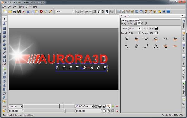 aurora 3d animation maker screenshots. Black Bedroom Furniture Sets. Home Design Ideas