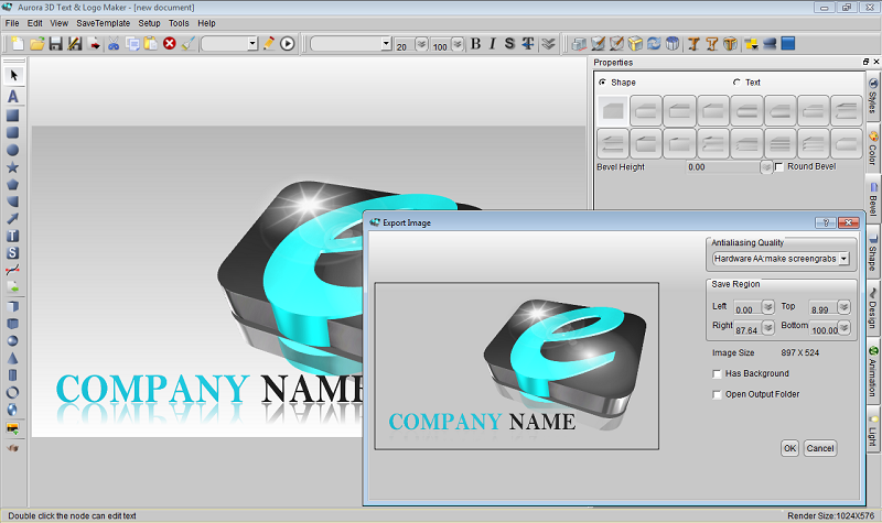 3D Animation Software  Movie Title Animation Creator