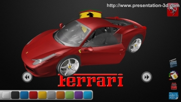 Aurora 3D Presentation Model