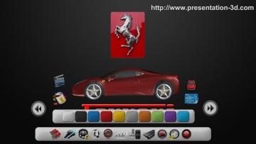 aurora 3D Presentation navgation