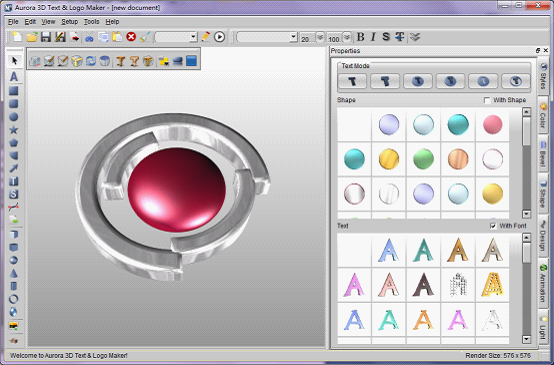 Easy 3D Logo Maker
