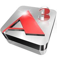 Aurora3DAnimation on Mac App Store Logo
