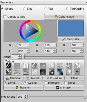 Aurora 3D Maker (Mac & Windows) Color 01