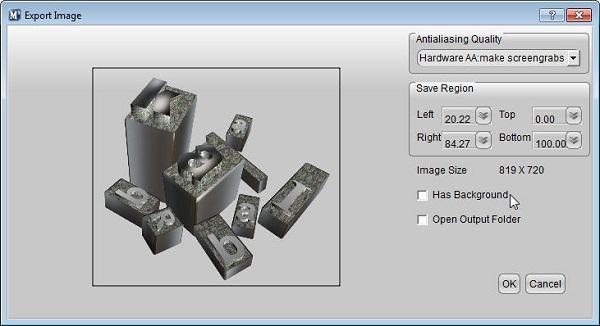 Aurora 3D Maker (Mac & Windows) Export Image