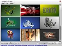 Aurora 3D Maker (Mac & Windows) Template 07