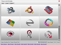 Aurora 3D Maker (Mac & Windows) Template 08