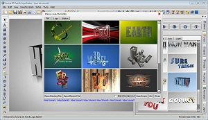 Aurora 3D Maker (Mac & Windows) Screenshot