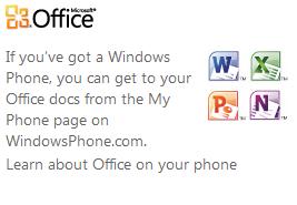 website text