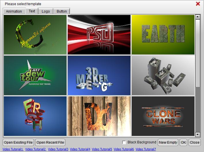3D Text Generator | Logo Maker | Movie Title Animation Maker