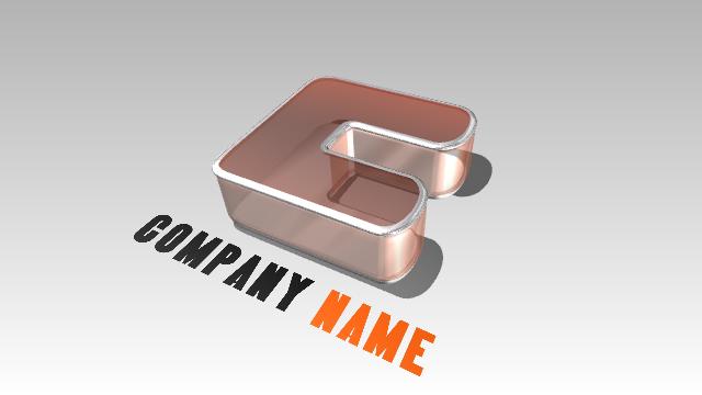 New 3D Logo Examples 2 - Aurora 3D Text Logo Maker