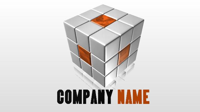 New 3D Logo Examples 3 - Aurora 3D Text Logo Maker