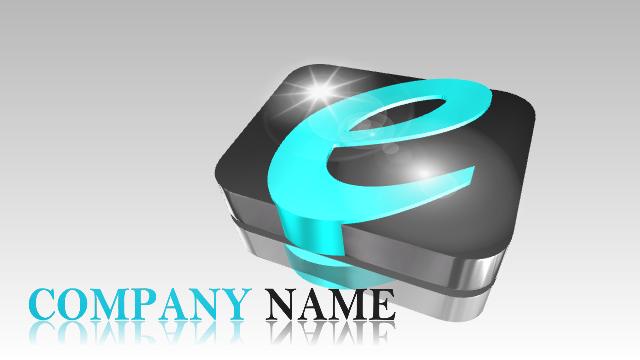New 3D Logo Examples 5 - Aurora 3D Text Logo Maker