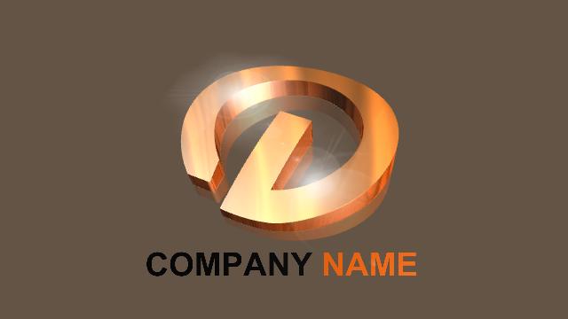 New 3D Logo Examples 7 - Aurora 3D Text Logo Maker