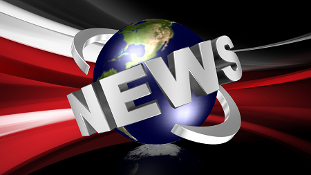 Cool 3D News Logo Design by Aurora 3D Text & Logo Maker