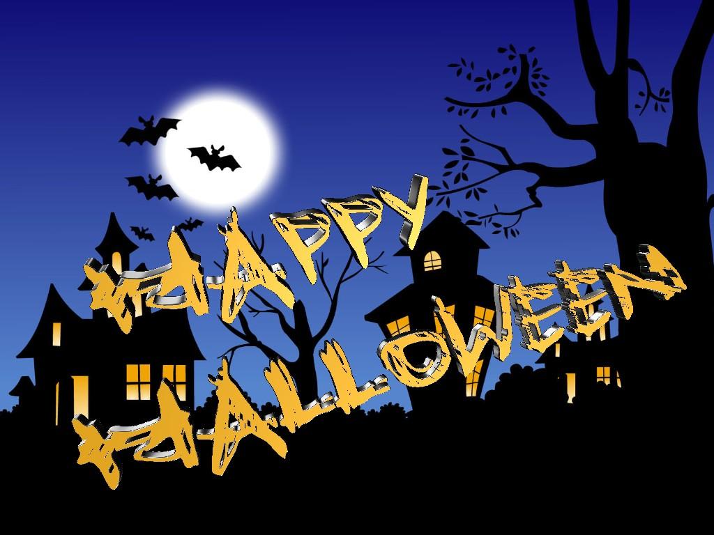 Halloween 3D Text 01