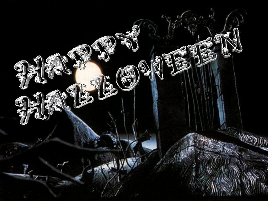 Halloween 3D Text 02